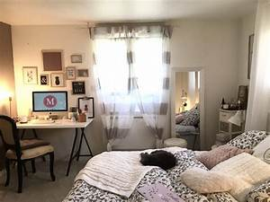 decoration chambre a coucher style scandinave cristal cos With style chambre a coucher