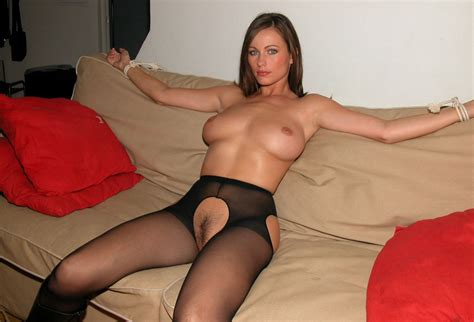 Hot Mom Tied Up On The Couch 13091