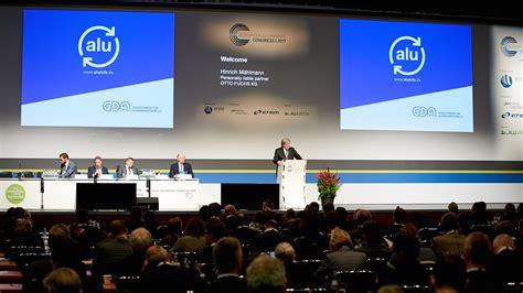 Gesamtverband Der Aluminiumindustrie by Gda E V European Aluminium Congress 2017