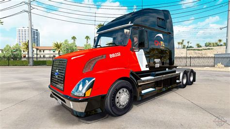 cntl skin  volvo truck vnl   american truck simulator
