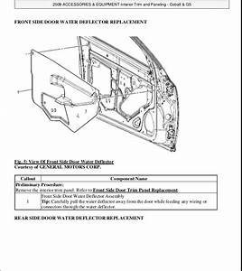 2010 Chevrolet Cobalt Service Repair Manual