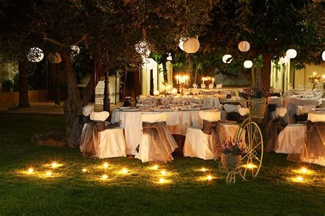 boda de noche en el campo boda en  jardines
