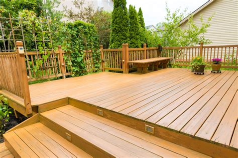 wood  composite decking pros  cons