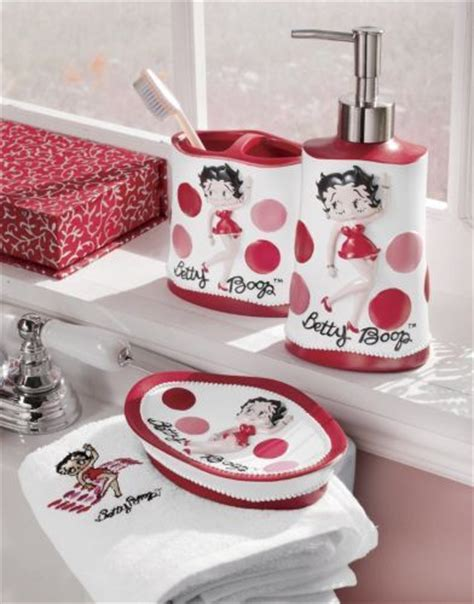 betty boop bathroom sets and bathroom on pinterest