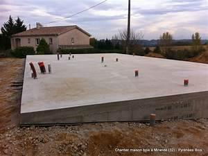construction maison bois les etapes pyrenees bois With etape achat terrain construction maison
