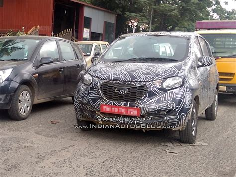 Datsun Go Backgrounds by Datsun Redi Go Hatchback Spied Could D 233 But At The Auto