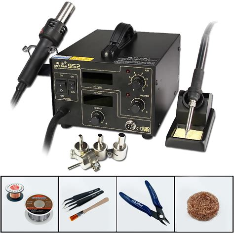 aliexpress buy gordak 952 2 in 1 heat gun soldering station constant temperature electric