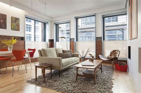 mid century decor old office building in boston transformed into a grand multi family residence