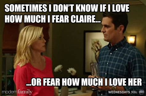 Modern Family Memes - claire modern family quotes quotesgram
