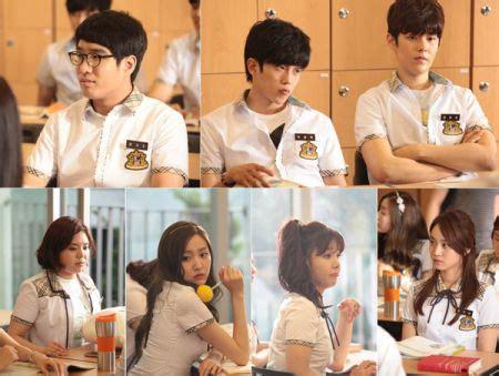 Kumpulan Foto Drama Korea Hi! Schoollove On  Kembang Pete