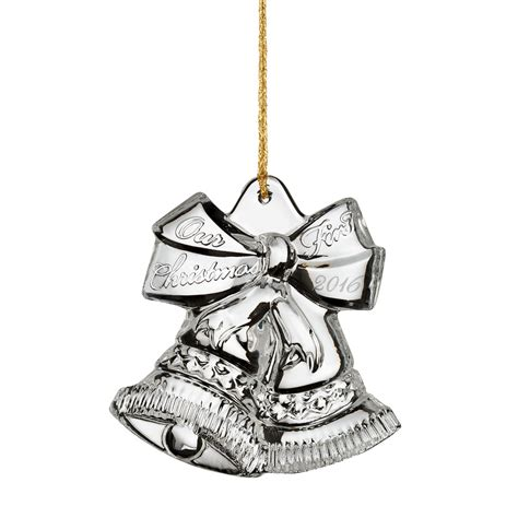 marquis by waterford 2016 our first christmas ornament