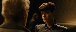 What is the back side of the replicant 'Rachel' appearing ...
