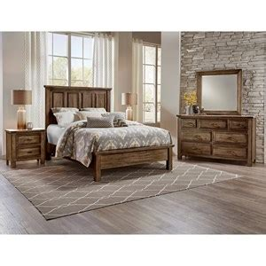 artisan post maple road queen bedroom group hudsons