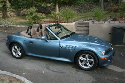 Sell Used Bmw, Z3, 2.5l, Roadster, Convertible, 2001