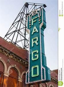 North American Designs Fargo Theater Sign Editorial Photo Image 34297221