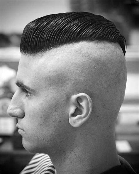 slicked  undercut haircuts  men manly hairstyles