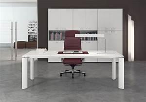 Bureau Moderne Blanc Vente De Mobilier De Bureau