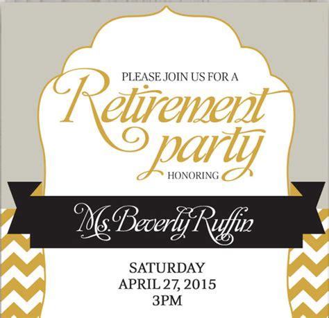 retirement invitation templates psd vector eps ai