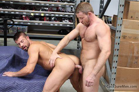 Muscular Hung Males Collection