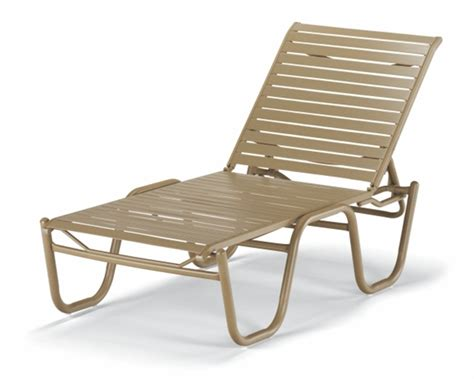 Pool Furniture Supply. Chaise Lounge Armless Vinyl Strap