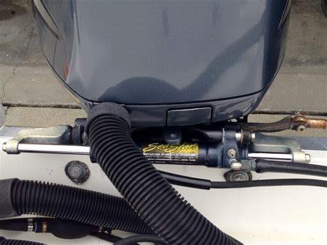 Hydraulic Boat Steering Upgrade by Seastar Hydraulic Steering Upgrade The Hull