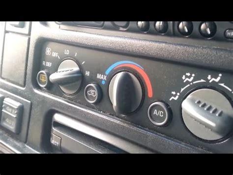 chevy tahoe gmc truck suburban suv blend door