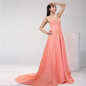 peach gown dressed up girl With peach dresses for wedding