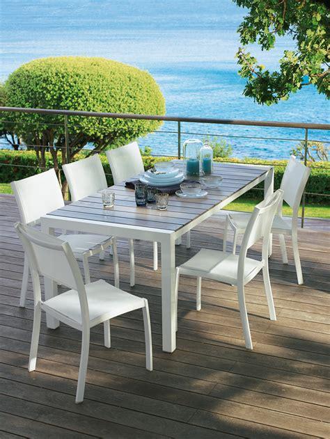 mobilier de jardin leclerc catalogue inspirant table de jardin leclerc table jardin blanche