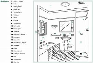 section repairs guide community services With bathroom items list