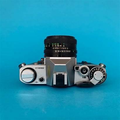 Canon Camera 35mm Film Slr Ae Lens