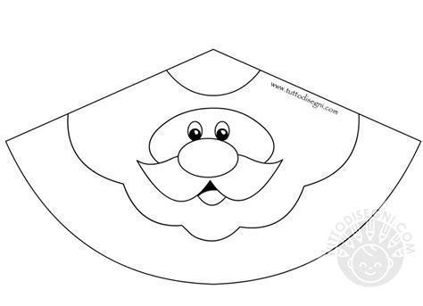 disegni da colorare 3d babbo natale 3d da colorare tuttodisegni