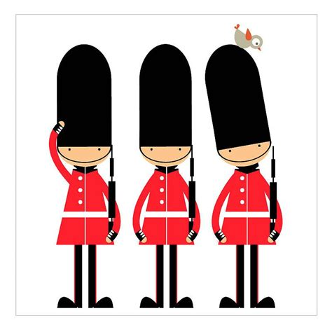 Three Little Soldiers Print | London theme, Soldier, Toy ...