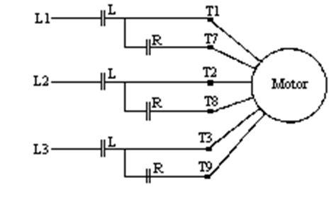 Part Winding Motor Starter Wiring by Part Winding