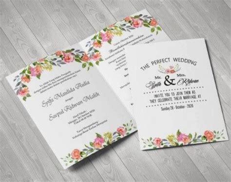 inspirasi desain undangan pernikahan unik beserta tips