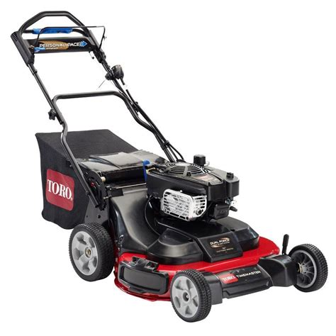 depot mowers toro 30 inch timemaster self propelled gas lawn mower with Home
