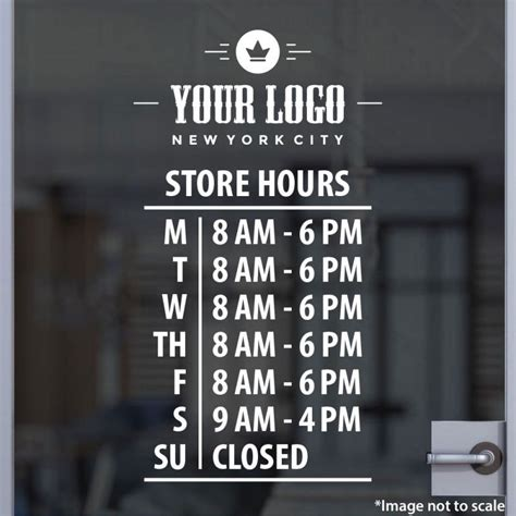 And Decor Store Hours by Our High Quality Lowest Price 100 Custom Open Hour Signs