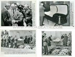 Marilyn Monroe Open Casket Funeral