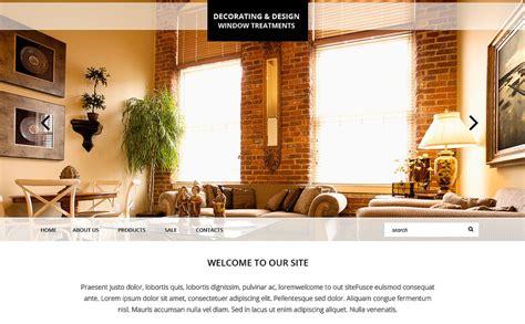 Home Decor Responsive Website Template #51857