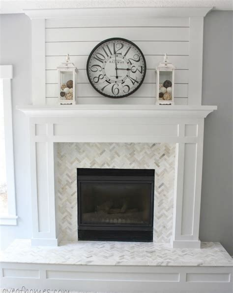 fireplace mantels and surrounds ideas photo decoration summer white diy projects page 3 of 9 sand and sisal
