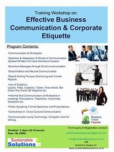 training workshop on effective business communication With courtesy skills training document