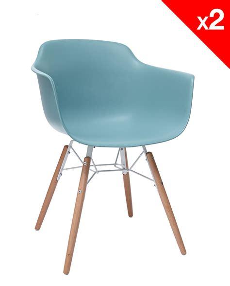 chaises avec accoudoirs lot de 2 chaises design avec accoudoirs kuta kayelles com