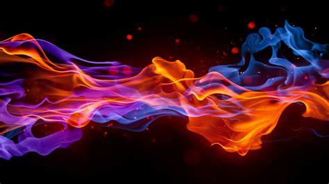 hd hintergrundbilder rauch flammen hell dunkel desktop