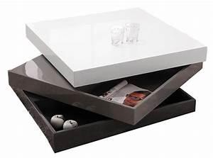 47c1e5b3d3661 Table Basse Carrée Design. table basse design openable carr e laqu e ...