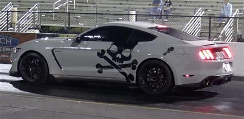 2016 Shelby Gt350 0 60 by 2016 Ford Mustang Gt350 Nitrous 1 4 Mile Trap Speeds 0 60