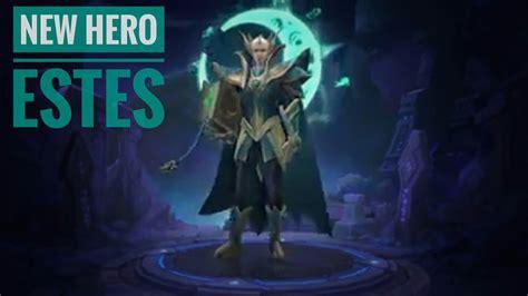 Mobile Legends New Upcoming Hero Estes!!