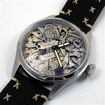 Dial Custom Watches Skull Hand Manufacturer Pirate