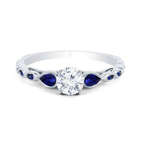 clara blue sapphire ring engagement