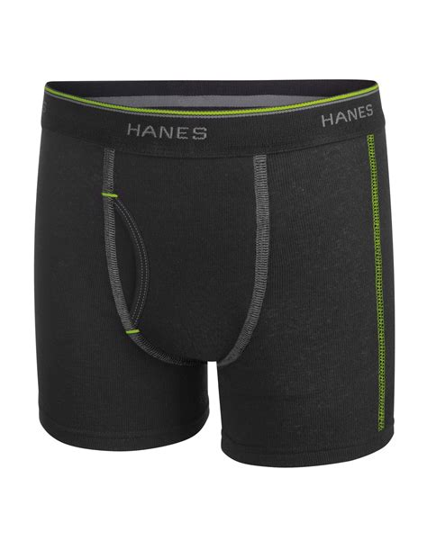 hanes comfort flex hanes boys sport style 5 pack dyed boxer brief with
