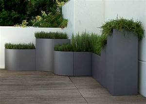 Beautiful moderne pflanzgefasse terrasse photos for Pflanzgefäße terrasse