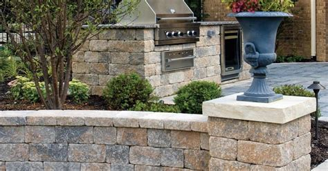Unilock Wall Installation by Estate Walls By Nicolock In Ct Call 203 287 0839